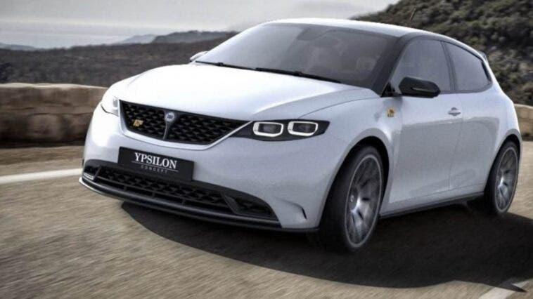 Nuova Lancia Ypsilon render