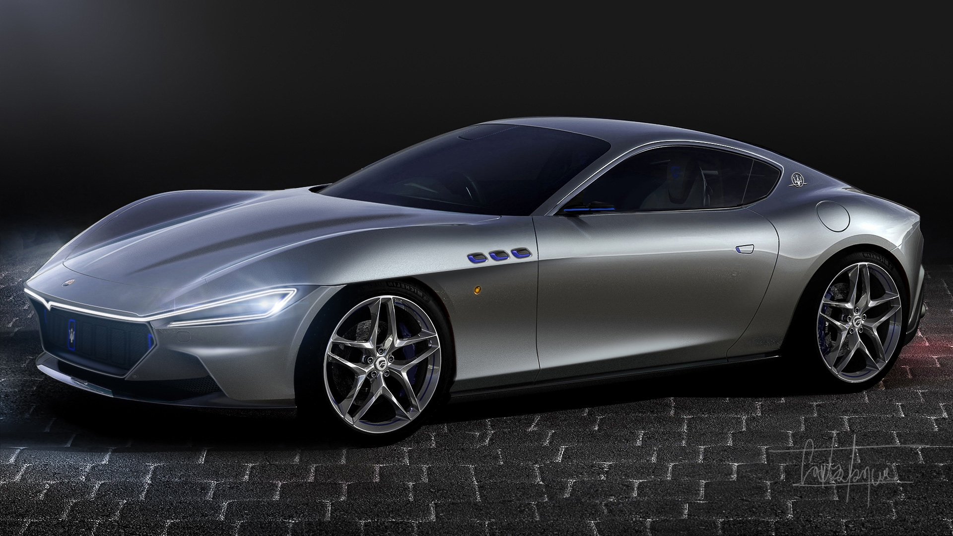 Nuova Maserati GranTurismo Ferrari Roma