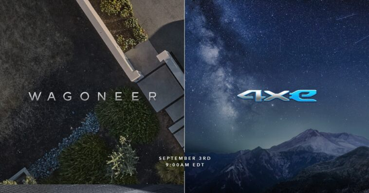 Nuovo Jeep Grand Wagoneer concept teaser