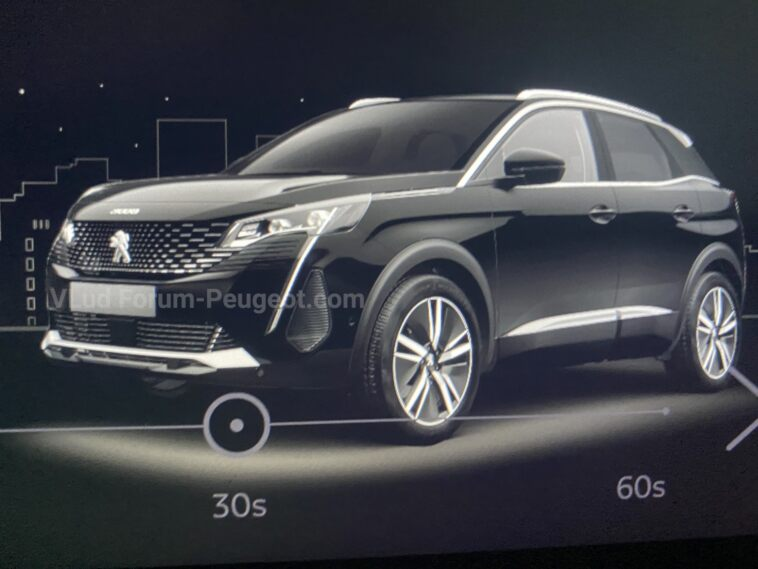 Peugeot 3008 nuovo restyling foto