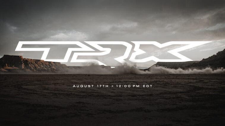 Ram 1500 TRX teaser