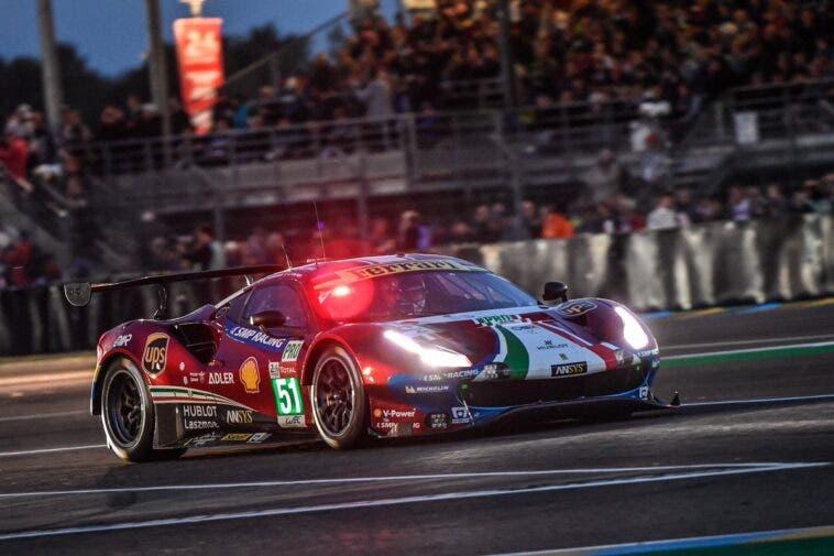 Ferrari a Le Mans