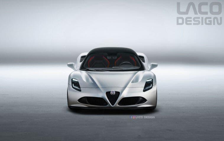 Alfa Romeo Maserati MC20 render