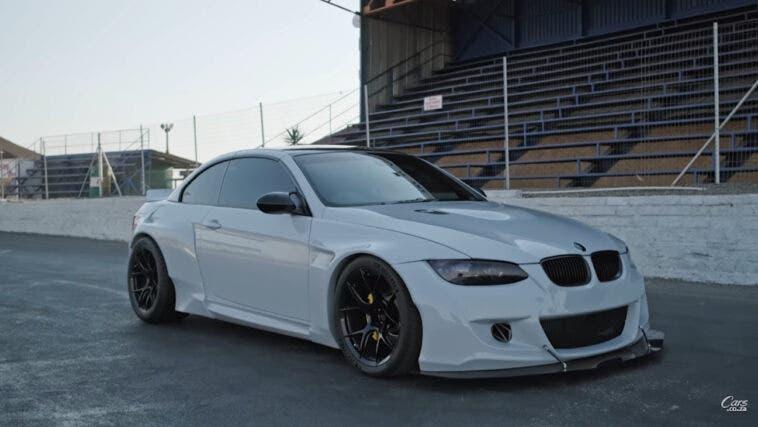 BMW M3 E92 Cabrio motore Ferrari