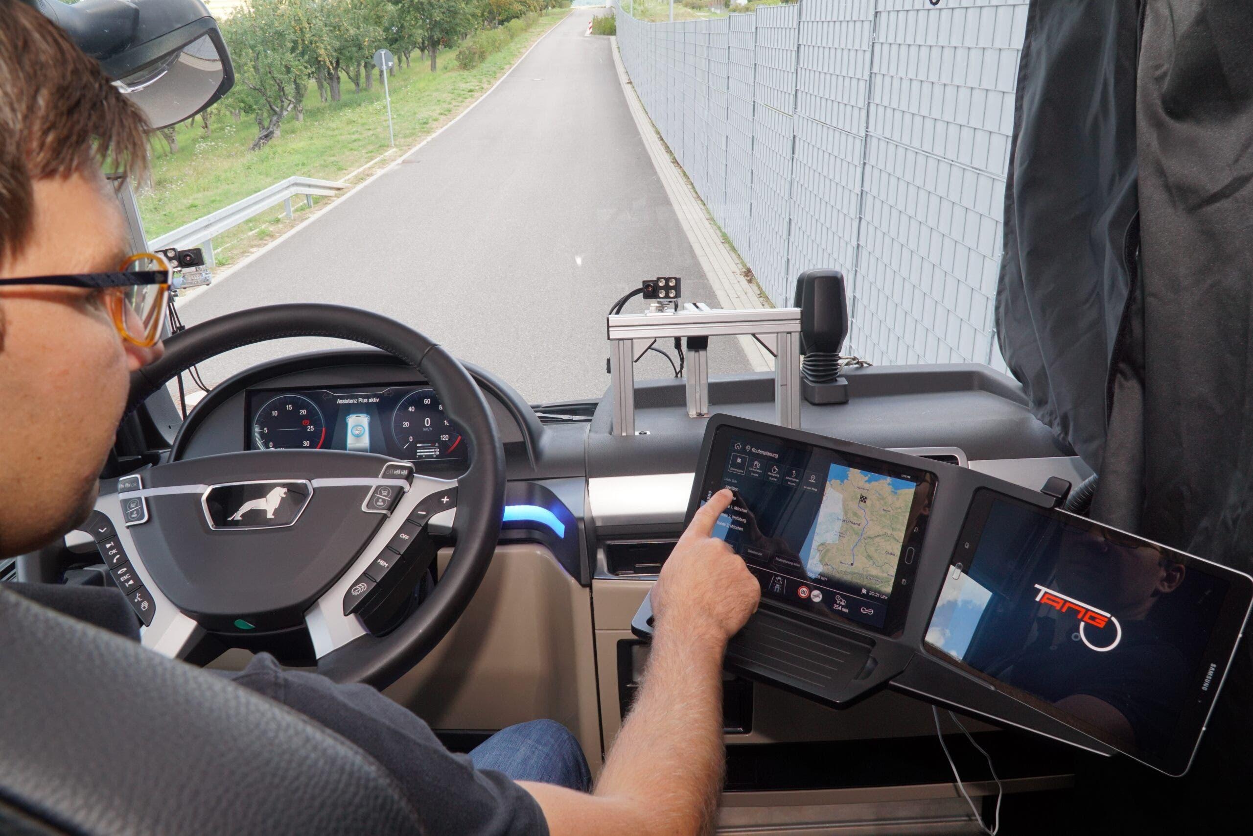 Bosch assistente virtuale camionisti