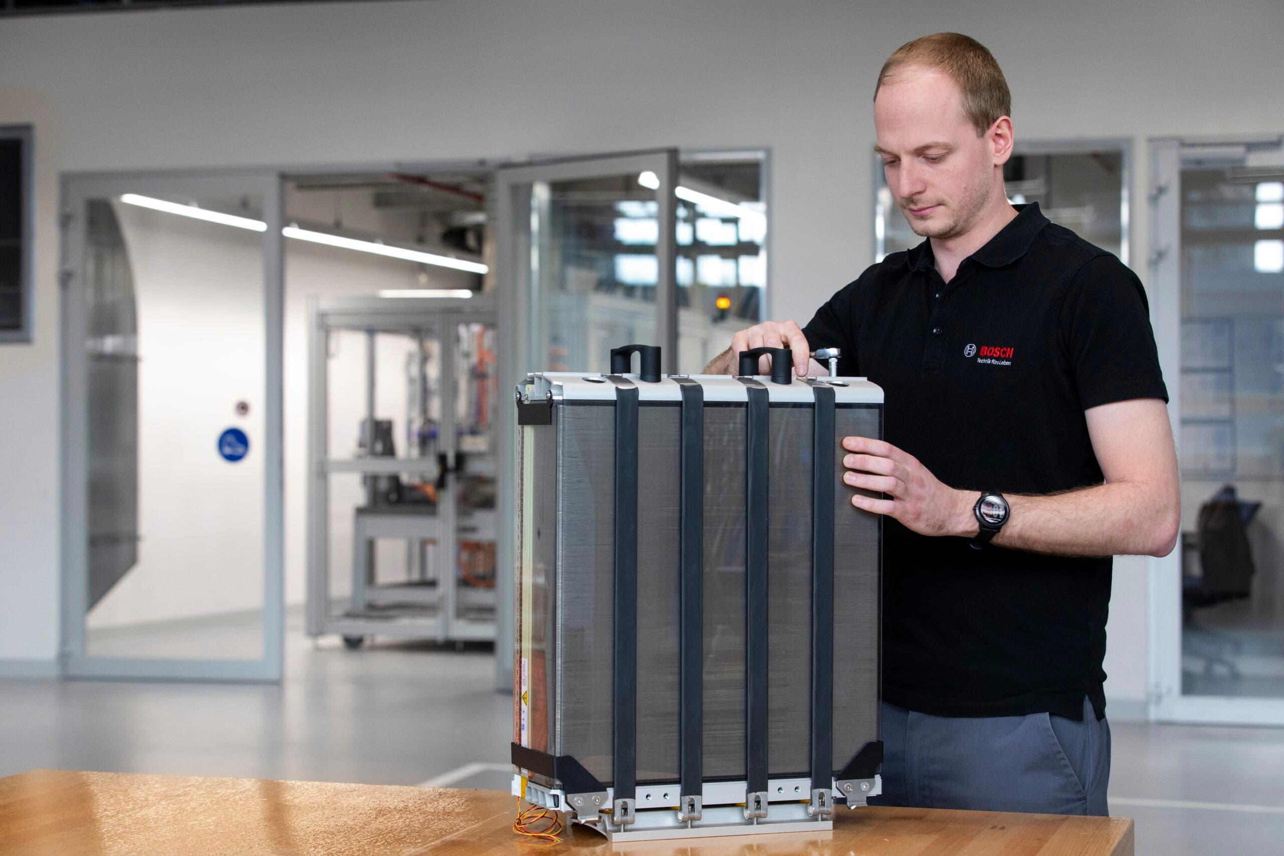 Bosch camion idrogeno