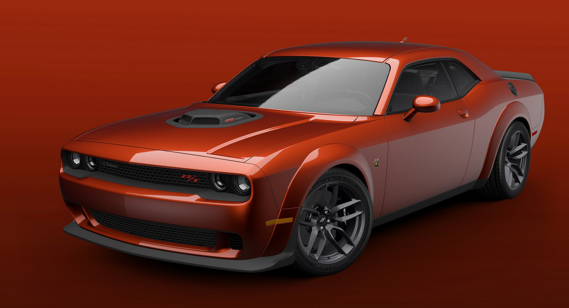 Dodge Challenger R/T Scat Pack Shaker Widebody 2021