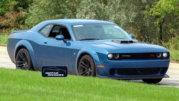 Dodge Challenger R/T Scat Pack Shaker Widebody foto spia