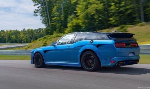 Dodge Challenger SRT Hellcat Wagon render