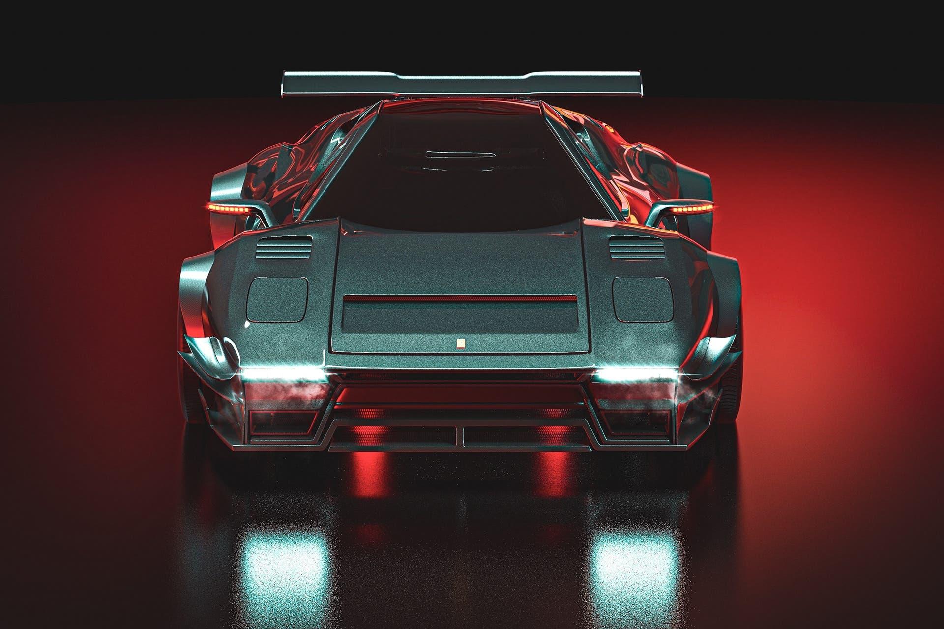 Ferrari 288 GTO moderna render