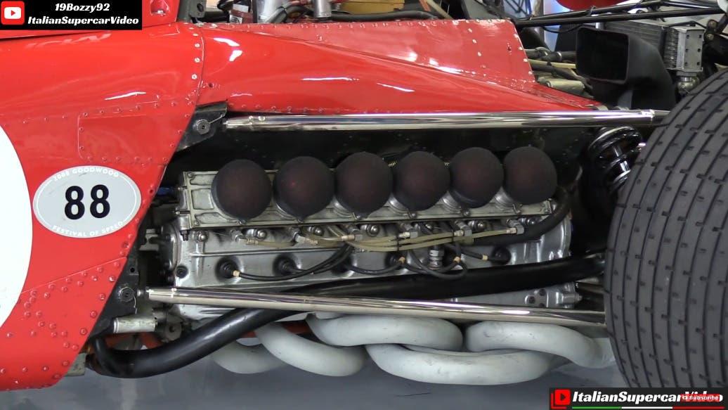 Ferrari 312 B2 Jacky Ickx video