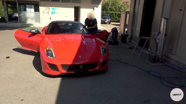 Ferrari 599 GTO sound