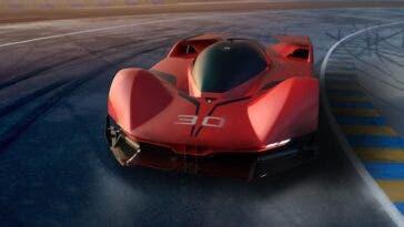 Ferrari hypercar Le Mans concept