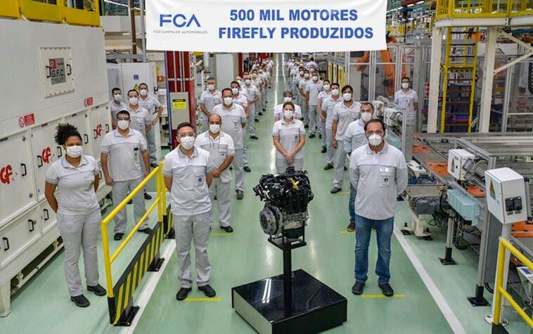Fiat 500.000 motori Firefly Brasile