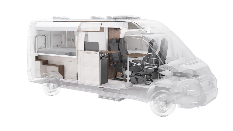 Fiat Ducato camper concept