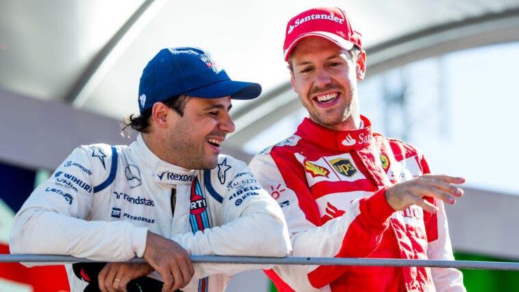Vettel Massa