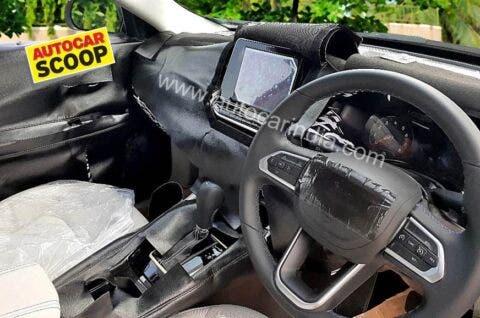 Jeep Compass 2022 versione indiana prototipo