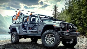 Jeep Gladiator show car Festival Wildays