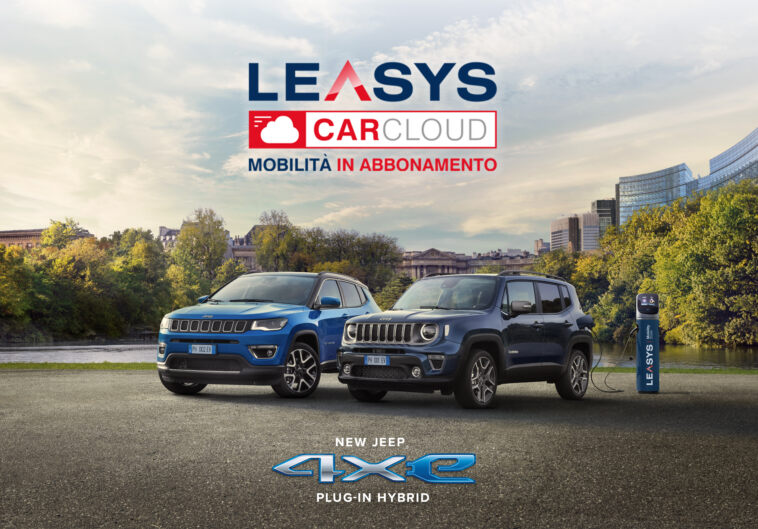 Jeep Renegade e Compass 4xe Leasys CarCloud