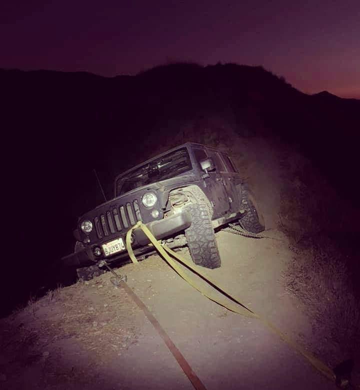 Jeep Wrangler recupero