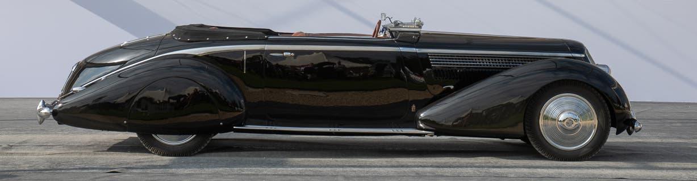 Lancia Astura Pinin Farina cabriolet Bocca