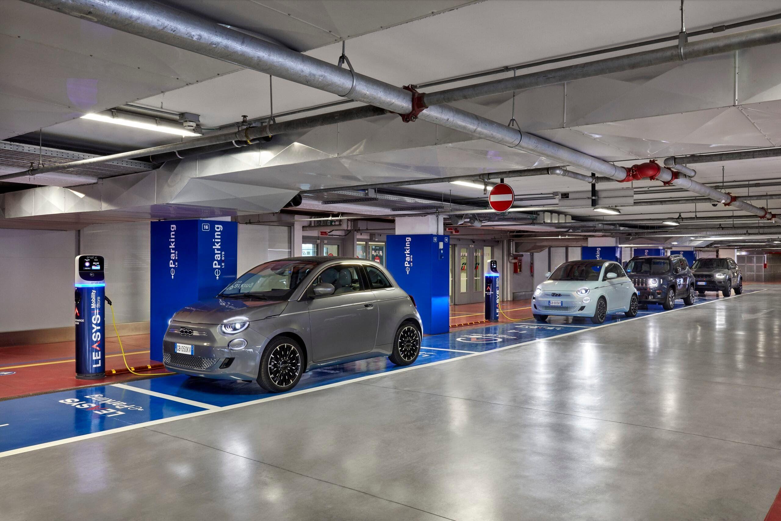 Leasys Metropark mobilita sostenibile