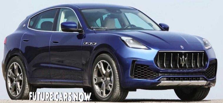 Maserati Grecale render