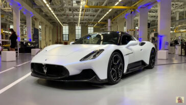 Maserati MC20 Klaus Busse video