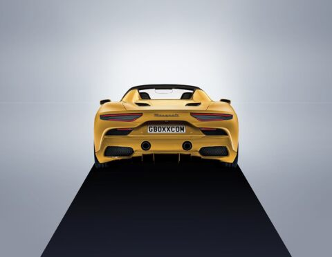 Maserati MC20 Spider render