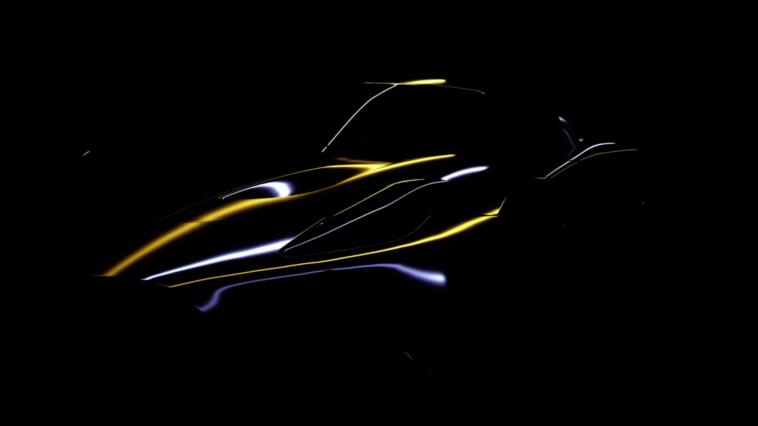 Maserati MC20 linee teaser