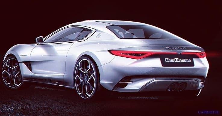 Nuova Maserati GranTurismo render