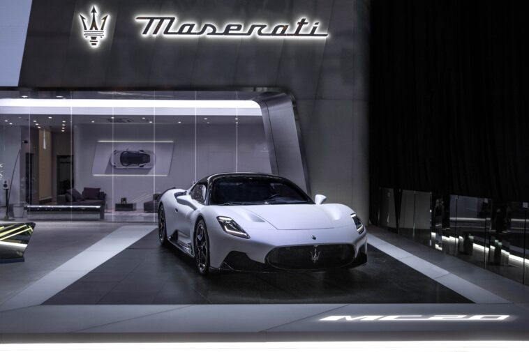 Nuova Maserati MC20 Salone Pechino 2020