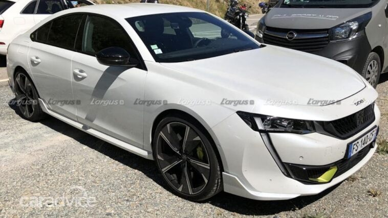 Peugeot 508 Sport Engineered 2021 foto spia