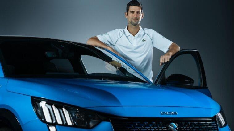 Peugeot Roland Garros Djokovic
