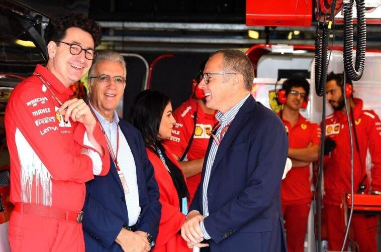 Binotto, Ferrari e Domenicali