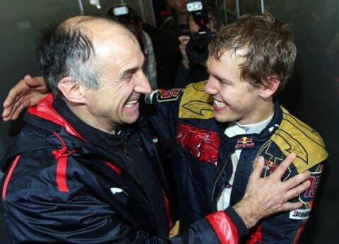 Sebastian Vettel e Franz Tost