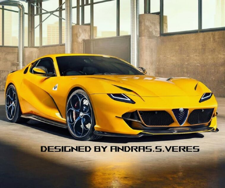 Alfa Romeo Super car