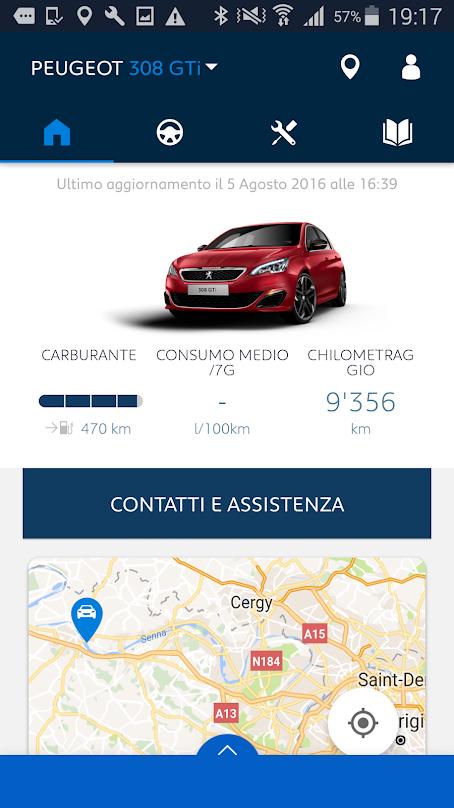 App MyPeugeot