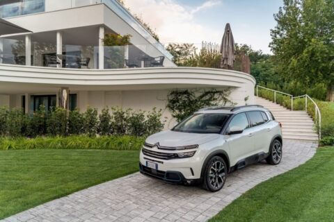 Citroën C5 Aircross ibrida plug-in