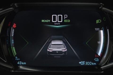 DS 3 Crossback E-Tense modalità Brake