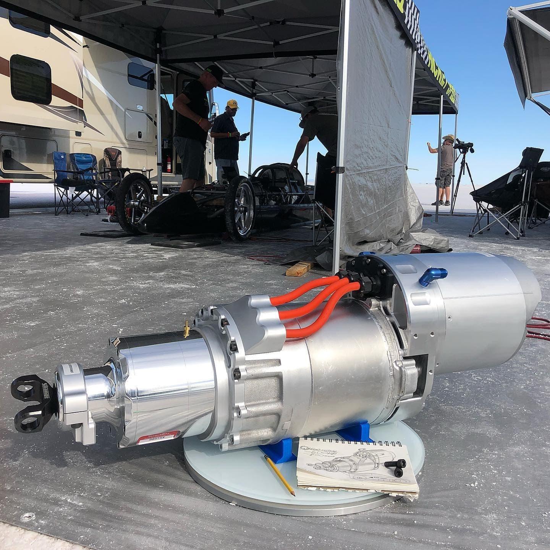 EV West motore elettrico muscle car