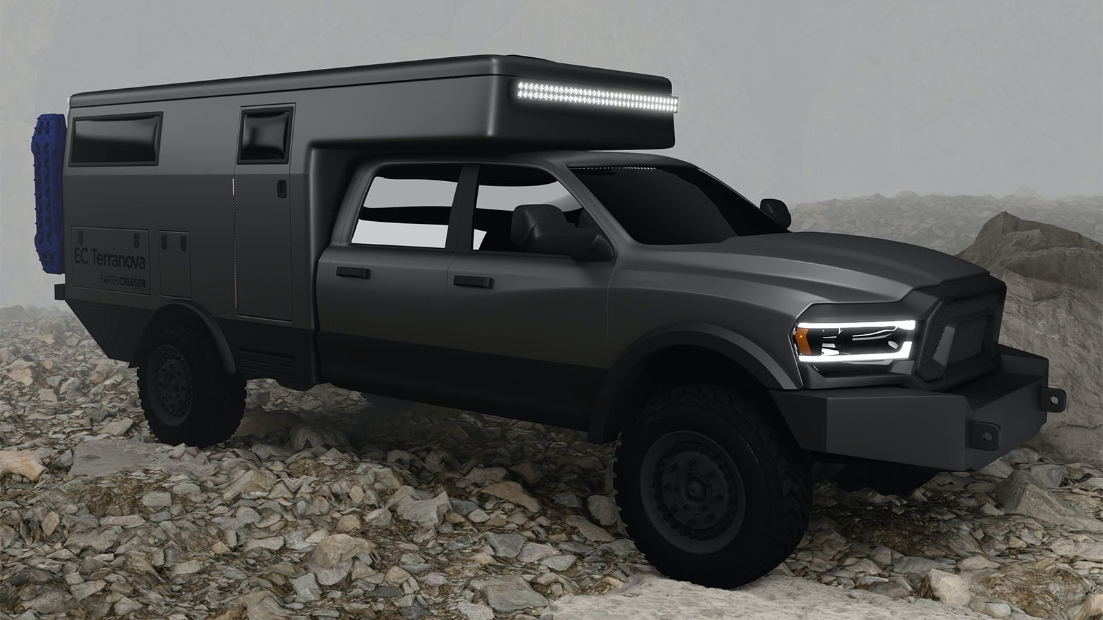 EarthCruiser EC Terranova pick-up camper