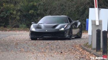 Ferrari 488 Pista Spider full black