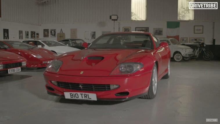 Ferrari 550 Maranello Drivetribe