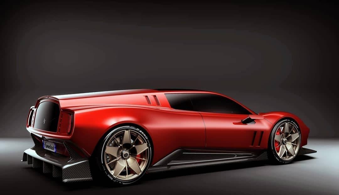 Ferrari Breadvan elettrica concept