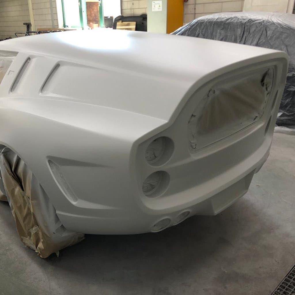 Ferrari Breadvan moderna omaggio