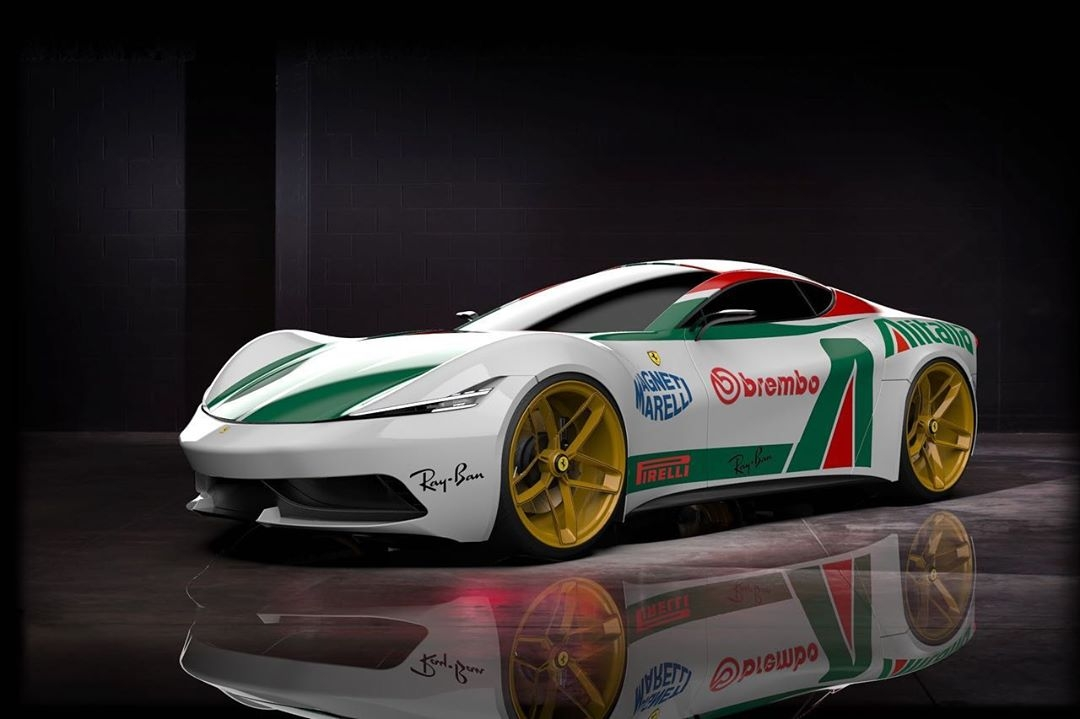 Ferrari Cavaliere render