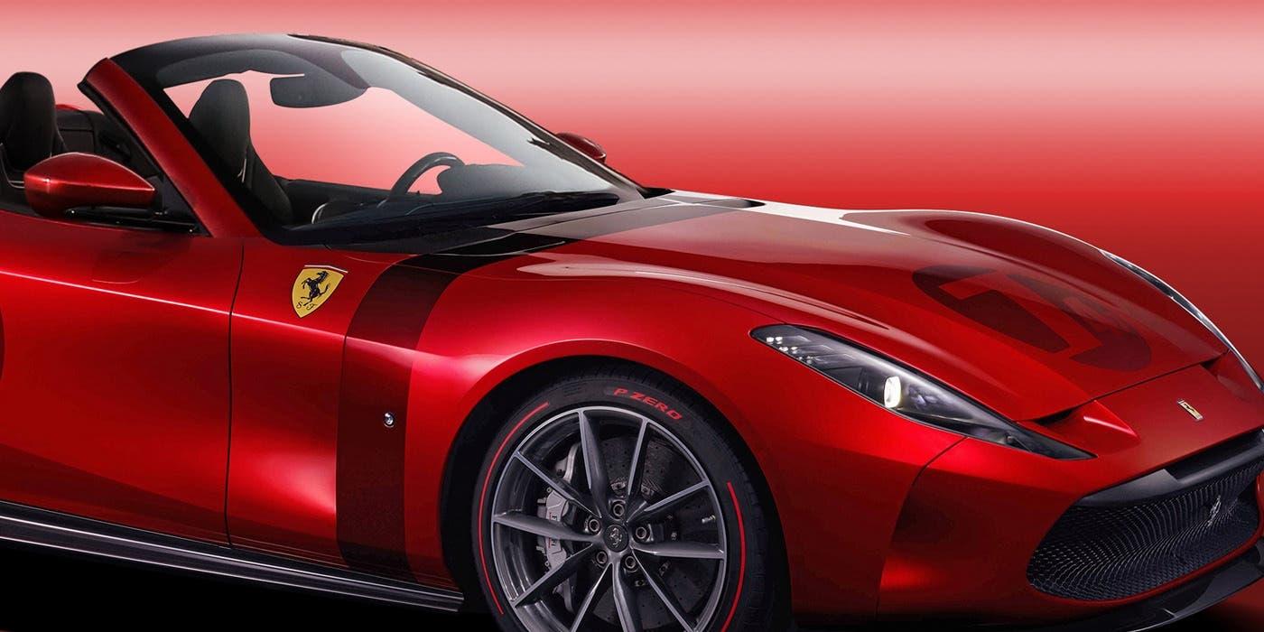 Ferrari Omologata Spider render