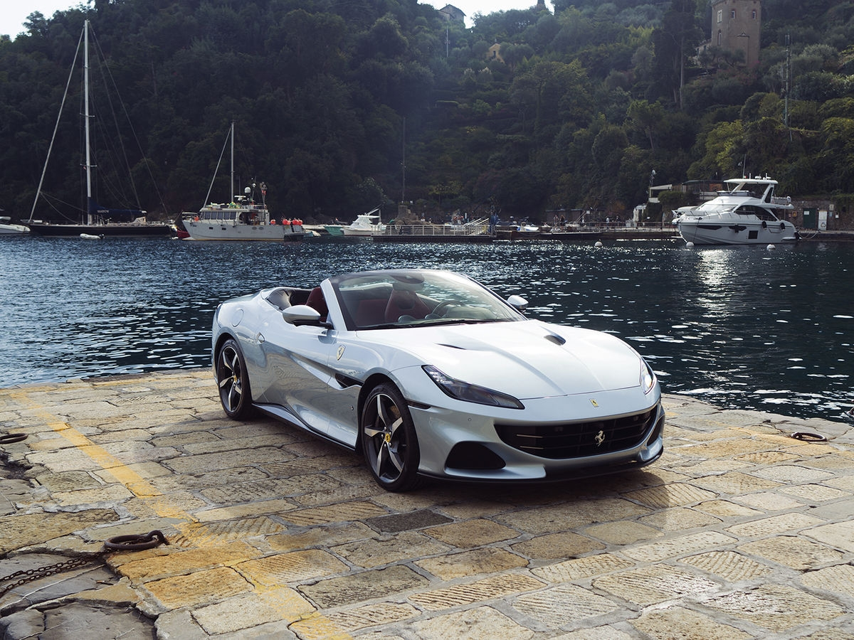 Ferrari Portofino M shooting