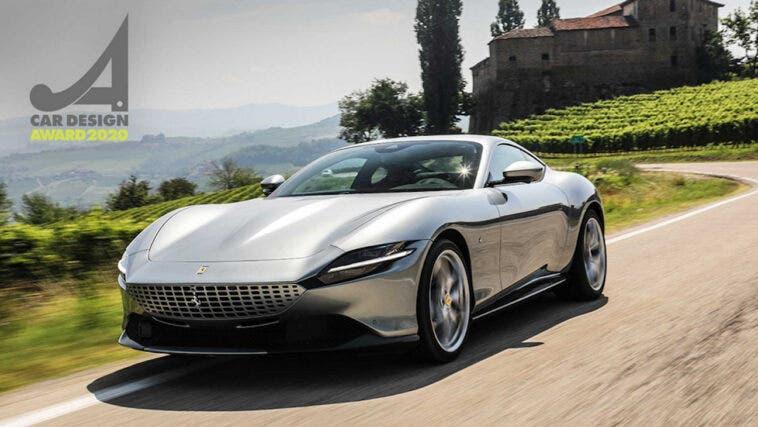 Ferrari Roma Car Design Award 2020